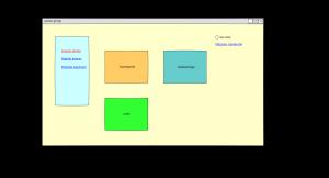mockup de l'interface web à réaliser
