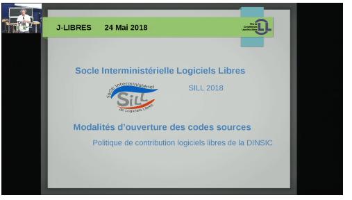 SILL 2018 & Politique de contribution Logiciels Libres de la DINSIC